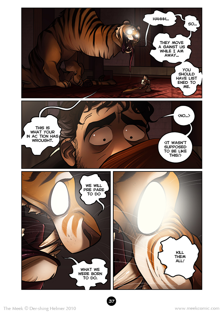 The Meek | An epic adventure webcomic - 2 37