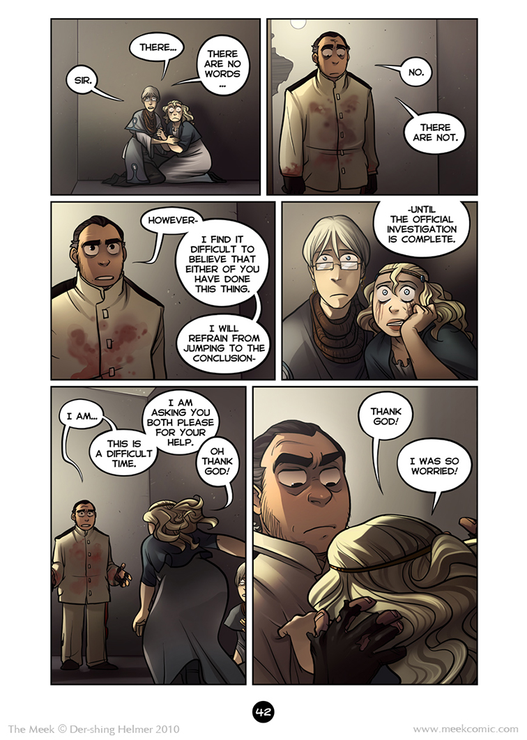 Gaia Webcomic the meek | an epic adventure webcomic - 2.42