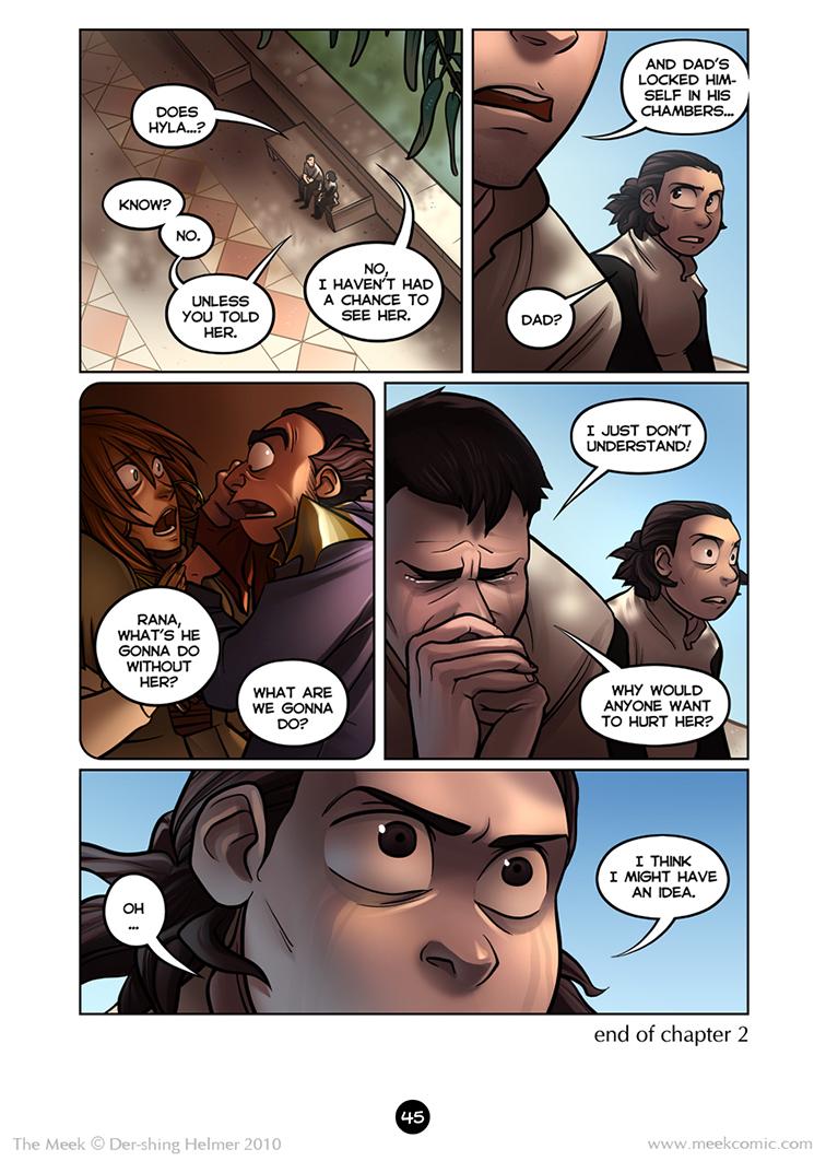 Gaia Webcomic the meek | an epic adventure webcomic - 2.45